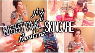 Download My Night Time Skincare Routine | Get UN-Ready with me! ALL DRUGSTORE! Video