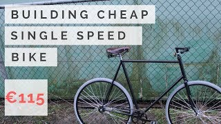 Download Building a cheap & awesome single speed bike (Fixie) Video