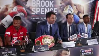 Download PURE HEATED! - KELL BROOK v ERROL SPENCE - **FULL & UNCUT** PRESS CONFERENCE (SHEFFIELD) Video