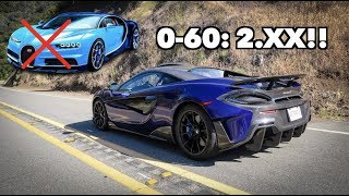 Download MY MCLAREN 600LT IS AS FAST AS A BUGATTI!!! Video