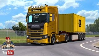 Download [ETS2] Scania New Generation & Original Interior + ALL DLC´s ready Video