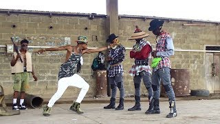 Download Shatta Wale Gringo Dance story video {film} by YKD yewo krom dancers Video