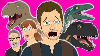 Download ♪ JURASSIC WORLD FALLEN KINGDOM THE MUSICAL - Animated Parody Song Video