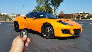 Download 2017 Lotus Evora 400: Start Up, Exhaust, Test Drive and Review Video