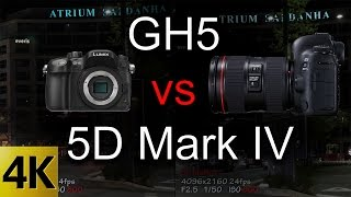 Download GH5 vs 5D Mark IV - Video Tests Side by Side Video