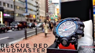 Download G-Shock MUDMASTER GWG-1000RD-4AJF Rescue Red Master of G (unboxing + review) Video