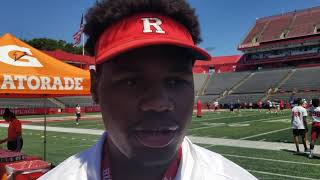 Download Priority DL target Jason Blissett: Rutgers 'at the top' Video