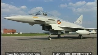Download Eurofighter - Typhoon Fighter Aircraft Video