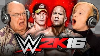 Download ELDERS PLAY WWE 2K16 (Elders React: Gaming) Video