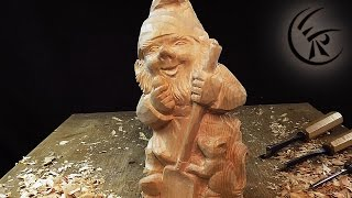 Download Woodcarving ″Dwarf″ ►► Timelapse Video