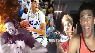 Download AYEEE HE CAN RAP TOO!! LONZO BALL vs UC SANTA BARBARA + RARE LONZO BALL FREESTYLE REACTION Video
