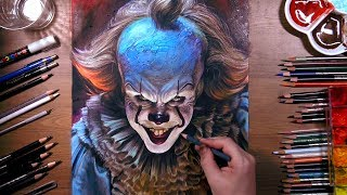Download Drawing Pennywise the Dancing Clown | drawholic Video