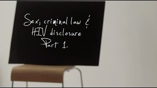 Download Sex, criminal law and HIV disclosure: What do you need to know? Video