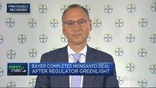 Download Bayer CEO: Monsanto deal will create $1.2 billion in synergies | Street Signs Europe Video