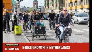 Download The use of electric bikes in The Netherlands continues to grow Video