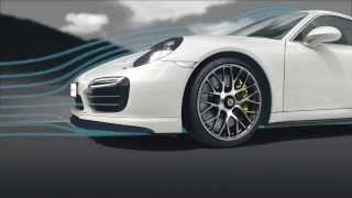 Download Porsche 911 Turbo Aerodynamics: Best of All Worlds Video