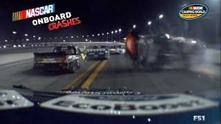 Download 2016 NASCAR Truck Series On-board Crashes Video