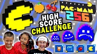 Download Lets Play Pacman 256! HIGH SCORE CHALLENGE (5 ROUNDS w/ FGTEEV Cheaters) + Power Ups Showcase Video
