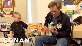 Download Conan Writes Chicago Blues Songs With School Kids - CONAN on TBS Video