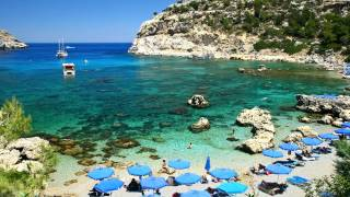Download Some of the best beaches in Greece! 720p/HD Video