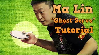 Download Table Tennis Serve Tutorial: Ma Lin ″Ghost″ Serve Video