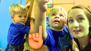 Download ROCK CLIMBING TODDLER! Video