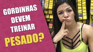 Download MUSCULAÇÃO EMAGRECE? Gordinhas devem treinar pesado? | CARLA BASILIO | GUIA DA BOA FORMA Video