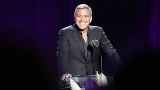Download George Clooney Hosts Hollywood's Night Under the Stars Video