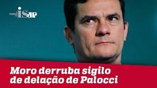 Download Moro derruba sigilo de delação de Palocci Video