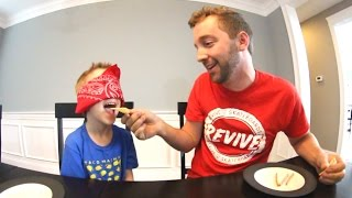 Download FATHER SON WEIRD FOOD TEST! Video