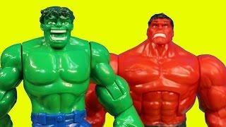 Download Imaginext Joker Creates Robotic Red Hulk to Battle Batman Robin Spider-man Wolverine Thor Video