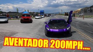 Download Testing the TOP SPEED of my Lamborghini Aventador! Video
