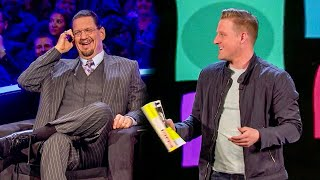Download Magician FOOLS Penn & Teller w SWORD + PHONE BOOKS!! Video