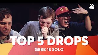 Download TOP 5 DROPS 😱 Grand Beatbox Battle Solo 2018 Video