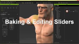 Download iClone Character Creator Tutorial – Create Custom Morph Sliders for Stylized 3D Characters in v1.4 Video