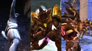 Download Soul Calibur III - Playing as Colossus, Night Terror & Charade Video