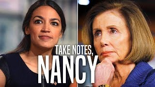 Download Ocasio-Cortez Puts Clueless Centrist Democrats in Their Place Video