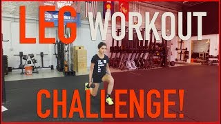 Download Leg Workout Challenge For Runners Video