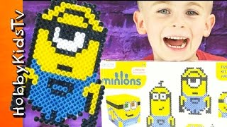 Download Minion FUSED Beads Toy Review Video