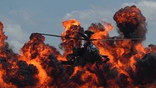 Download Duxford 27th May 2017 Apache gunship display Video