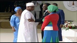 Download Cérémonie d'investiture de Teodoro Obiang Nguema Mbasogo (2/3) Video