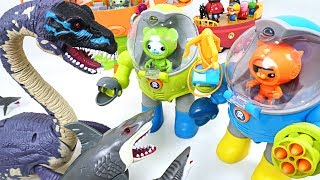 Download Super giant sea monster appeared!! Octonauts! Octo robot suits ride and go!! - DuDuPopTOY Video