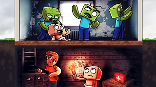 Download Minecraft | Who's Your Daddy? How to Survive a Zombie Apocalypse! (Zombie Bunker) Video