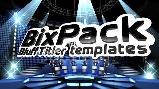 Download BixPack 1 - Intro video templates - Virtual Studios Video