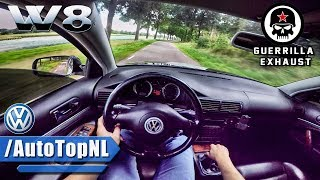 Download VW Passat W8 SUPER LOUD! Guerilla Exhaust POV Test Drive by AutoTopNL Video