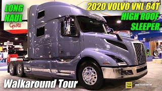 Download 2018 Volvo VNL 860 77inch Hig roof Long Haul Sleeper - Walkaround - 2017 NACV Show Atlanta Video