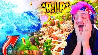 Download Ninja & Streamers React To Tilted Towers Being DESTROYED! Loot Lake *LIVE EVENT* ″UNVAULT″ Event Video
