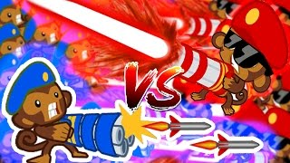 Download Bloons TD Battles | RAYS OF DOOM VS HYDRA ROCKETS! - STACKING RAYS OF DOOM!? Video