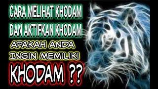 Download RAHASIA Cara Melihat KHODAM !! Mengaktifkan Khodam / Mendeteksi Khodam / Khodam Macan Video