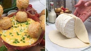 Download Summer-time Fondue 🌞 Cheesy Dips 🧀 A Mozzarella Lake 🇮🇹 We're Dipping Chefclub Style 🏖️ Video